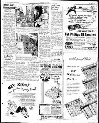 The Courier News from Blytheville, Arkansas on February 5, 1947 · Page 3