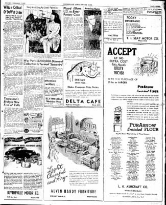 The Courier News from Blytheville, Arkansas on February 7, 1947 · Page 7
