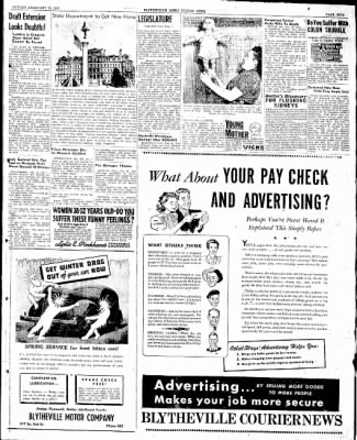 The Courier News from Blytheville, Arkansas on February 10, 1947 · Page 5