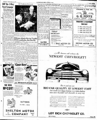 The Courier News from Blytheville, Arkansas on February 10, 1947 · Page 7
