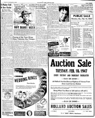 The Courier News from Blytheville, Arkansas on February 11, 1947 · Page 3
