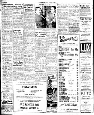 The Courier News from Blytheville, Arkansas on February 13, 1947 · Page 6