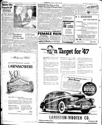 The Courier News from Blytheville, Arkansas on February 13, 1947 · Page 10