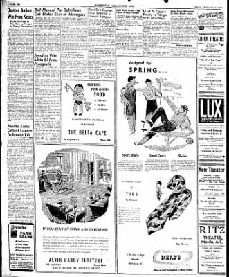 The Courier News from Blytheville, Arkansas on February 14, 1947 · Page 6