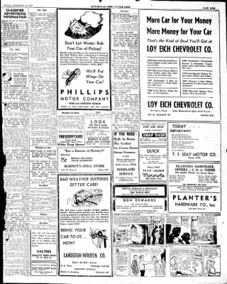 The Courier News from Blytheville, Arkansas on February 14, 1947 · Page 9