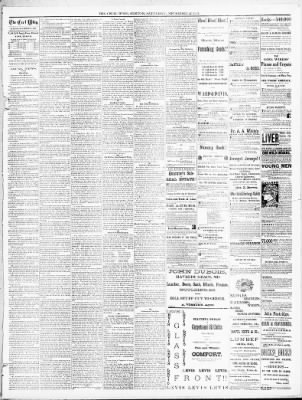 The Cecil Whig from Elkton, Maryland on November 17, 1883 · 3
