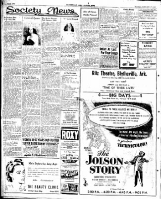 The Courier News from Blytheville, Arkansas on February 17, 1947 · Page 4