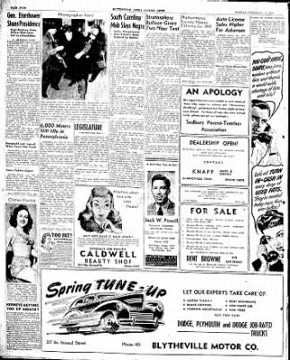 The Courier News from Blytheville, Arkansas on February 17, 1947 · Page 6