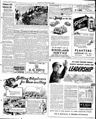 The Courier News from Blytheville, Arkansas on February 17, 1947 · Page 9