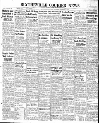The Courier News from Blytheville, Arkansas on February 19, 1947 · Page 1