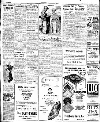 The Courier News from Blytheville, Arkansas on February 19, 1947 · Page 6