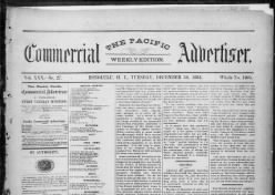 The Pacific Commercial Advertiser