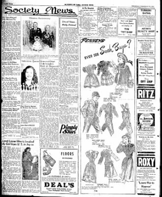 The Courier News from Blytheville, Arkansas on February 20, 1947 · Page 4