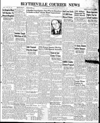 The Courier News from Blytheville, Arkansas on February 21, 1947 · Page 1