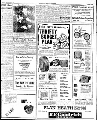 The Courier News from Blytheville, Arkansas on February 21, 1947 · Page 9