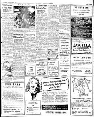 The Courier News from Blytheville, Arkansas on February 22, 1947 · Page 3