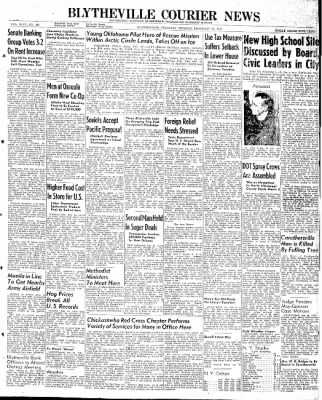The Courier News from Blytheville, Arkansas on February 25, 1947 · Page 1