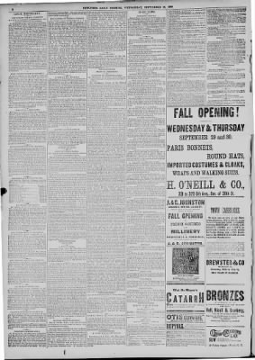 New York Tribune From New York New York On September 29 1880 8