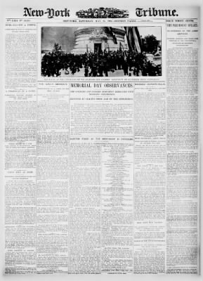 New-York Tribune from New York, New York on May 31, 1902 · 1