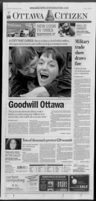 The Ottawa Citizen from Ottawa, Ontario, Canada on March 29, 2009 · 1