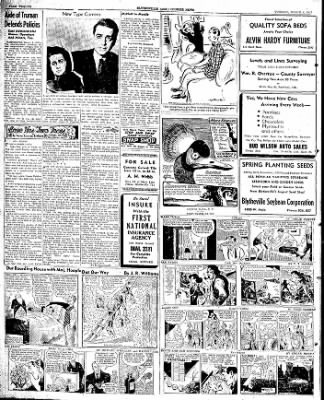 The Courier News from Blytheville, Arkansas on March 4, 1947 · Page 6