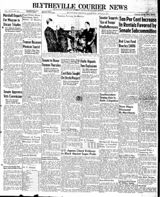 The Courier News from Blytheville, Arkansas on March 5, 1947 · Page 1