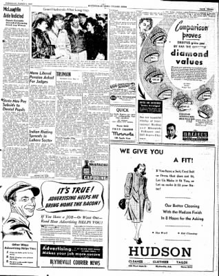 The Courier News from Blytheville, Arkansas on March 6, 1947 · Page 3