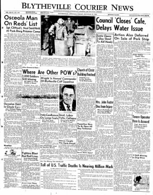 The Courier News from Blytheville, Arkansas on December 21, 1951 · Page 1