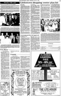 The Gettysburg Times from Gettysburg, Pennsylvania on May 11, 1989