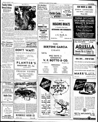 The Courier News from Blytheville, Arkansas on March 7, 1947 · Page 7