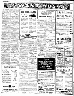 The Courier News from Blytheville, Arkansas on July 10, 1952 · Page 4