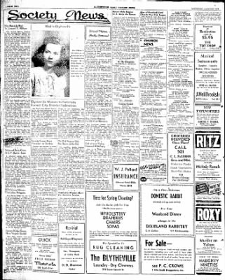 The Courier News from Blytheville, Arkansas on March 8, 1947 · Page 2