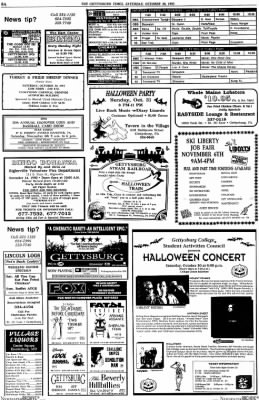 the gettysburg times from gettysburg pennsylvania on october 30 1993 page 9