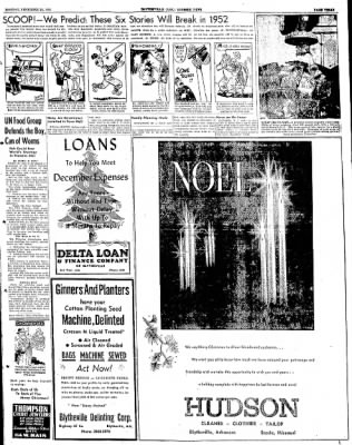 The Courier News from Blytheville, Arkansas on December 24, 1951 · Page 3