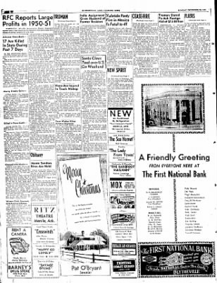 The Courier News from Blytheville, Arkansas on December 24, 1951 · Page 6