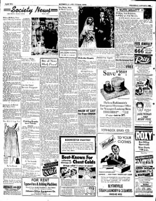 The Courier News from Blytheville, Arkansas on January 2, 1952 · Page 2