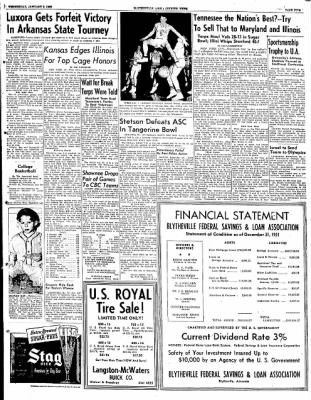 The Courier News from Blytheville, Arkansas on January 2, 1952 · Page 5