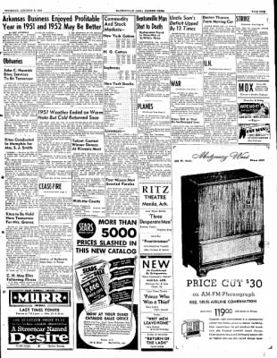The Courier News from Blytheville, Arkansas on January 3, 1952 · Page 5