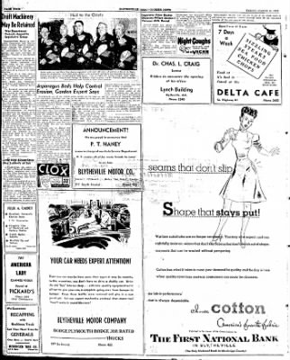 The Courier News from Blytheville, Arkansas on March 14, 1947 · Page 4