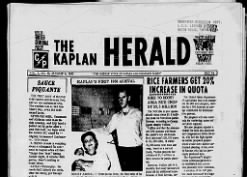 The Kaplan Herald