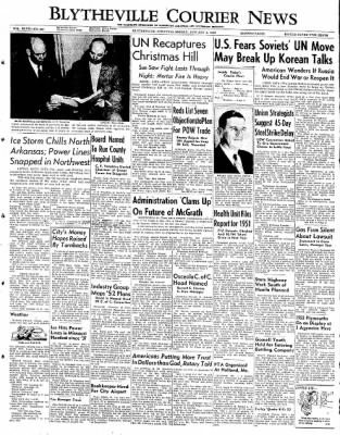The Courier News from Blytheville, Arkansas on January 4, 1952 · Page 1