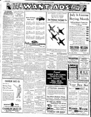 The Courier News from Blytheville, Arkansas on July 11, 1952 · Page 4
