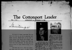 The Cottonport Leader