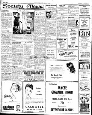 The Courier News from Blytheville, Arkansas on March 17, 1947 · Page 2