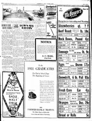 The Courier News from Blytheville, Arkansas on May 29, 1931 · Page 3
