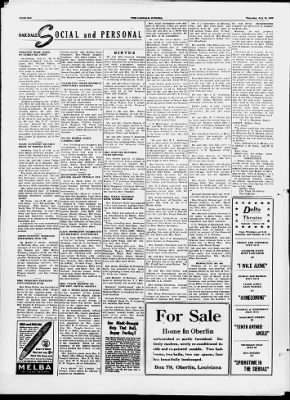 The Oakdale Journal from Oakdale, Louisiana on July 15, 1948 · 6