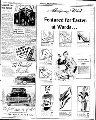 The Courier News from Blytheville, Arkansas on March 18, 1947 · Page 5