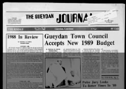 The Gueydan Journal