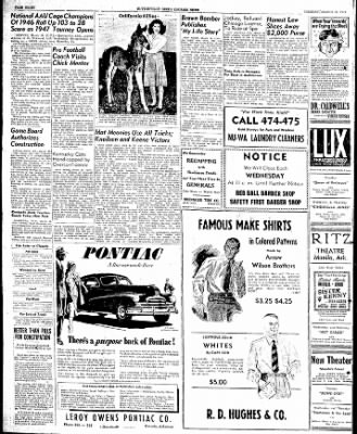 The Courier News from Blytheville, Arkansas on March 18, 1947 · Page 8