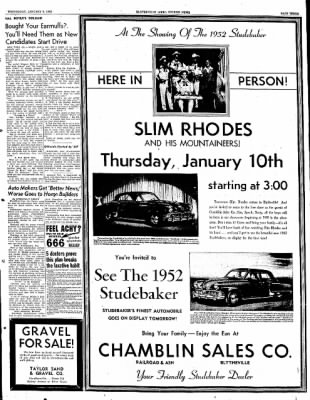The Courier News from Blytheville, Arkansas on January 9, 1952 · Page 3